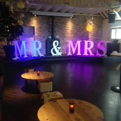 letters mr & mrs