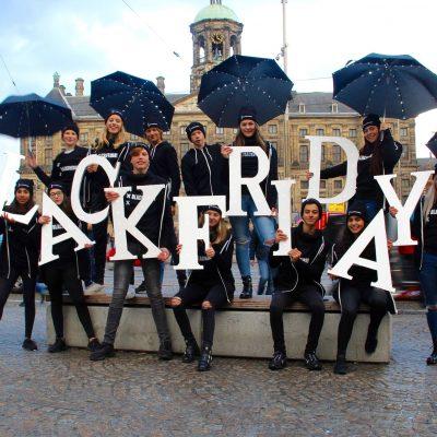 verlichte letters black friday
